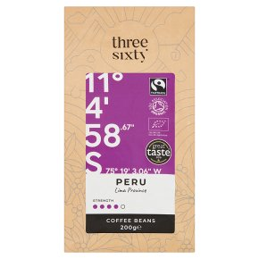 Three Sixty Peru Coffee Beans
