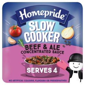 Homepride Slow Cooker Beef & Ale