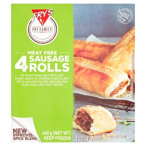 Fry's Meat Free 4 Sausage Rolls