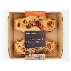 Waitrose Butterscotch Pecan Yum Yums