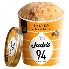 Judes Lower Calorie Salted Caramel Ice Cream