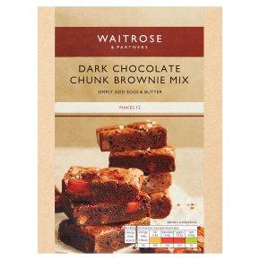 Waitrose Dark Choc Chunk Brownie Mix
