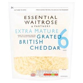 Essential English Cheddar Grated Strength 6