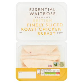 Essential Finely Sliced Roast Chicken Breast