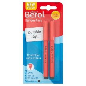 Berol Black Handwriting Pens