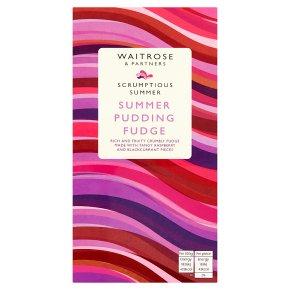 Waitrose SS Summer Pudding Fudge