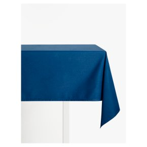 John Lewis Cotton Mix Tablecloth Navy