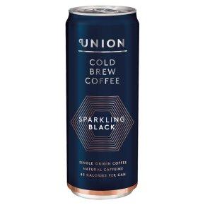 Union Sparkling Black Cold Coffee