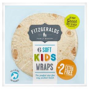 Fitzgeralds Soft Kids Wraps
