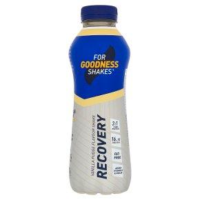 For Goodness Shakes Recovery Vanilla