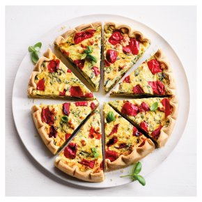 Higgidy Spinach, Feta & Red Pepper Quiche