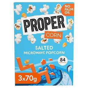 Proper Corn Salted Popcorn Microwavable