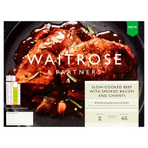 Waitrose Slow Cooked Beef with Bacon & Chianti