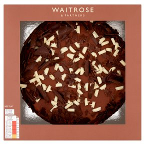 Waitrose Hand Finished Chocolate Cake