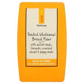 Waitrose LoveLife Seeded Wholemeal Bread Flour