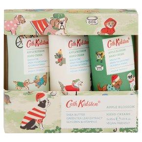 Cath Kidston Dogs Hand Cream Trio
