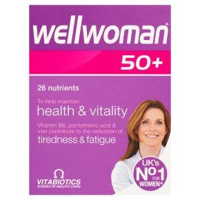 Wellwoman 50+ Tablets