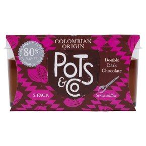 Pots & Co Colombian Origin 80% Double Dark Chocolate
