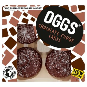 OGGS Chocolate Fudge Cakes