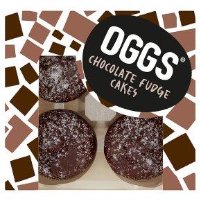 OGGS Chocolate Fudge Cakes