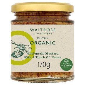 Waitrose DUCHY mustard with honey