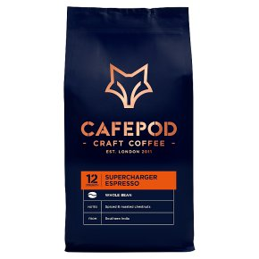 CafePod Coffee Co. Coffee Beans Supercharger