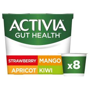 Activia Strawberry & Mixed Fruits Yogurts