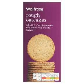 Waitrose Rough Oatcakes