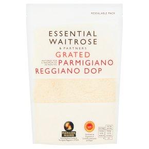 essential Waitrose grated Parmigiano Reggiano cheese