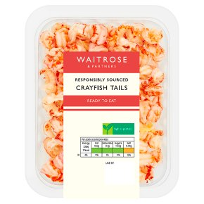 Waitrose Cooked & Peeled Crayfish Tails