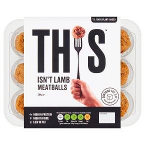 This Isn't Lamb Meatballs