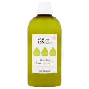 Waitrose ECOlogical Laundry Liquid Non-Bio 15 washes