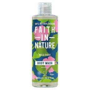 Faith in Nature Wild Rose Body Wash