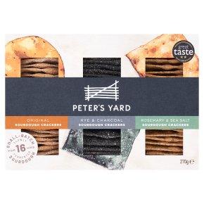 Peter's Yard Sourdough Crackers Selection