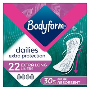 Bodyform Dailies Extra Protection Liners