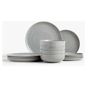 John Lewis Craft 12pc Set Grey