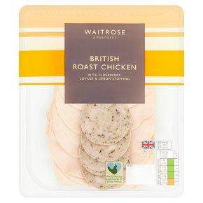 Waitrose British Sliced Roast Chicken with Stuffing