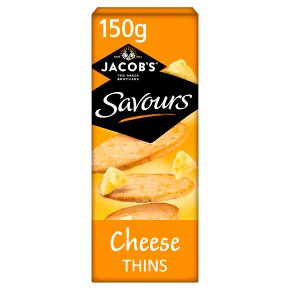 Jacob's Savours Cheese Thins