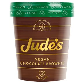 Jude's Vegan Chocolate Brownie