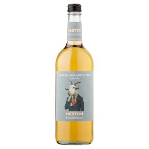 Heston Spiced Mulled Cider Herefordshire