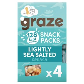 Graze Snack Packs Lightly Sea Salted Crunch
