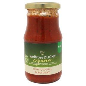 Waitrose Duchy Tomato & Chilli Pasta Sauce