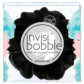 Invisi Bobble Sprunchie Black