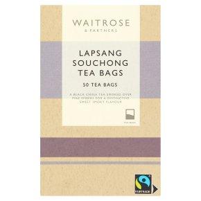 Waitrose Lapsang Souchong 50 Tea Bags