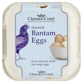 Clarence Court Seasonal Bantam Eggs