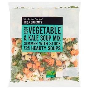 Waitrose CI Root Veg & Kale Soup Mix