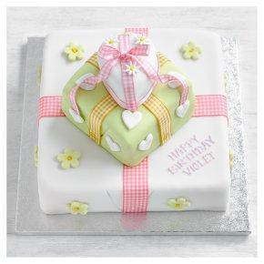 Three Tier Parcel Cake