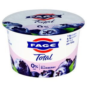 FAGE Total 0% Fat Free Yoghurt with Blueberry