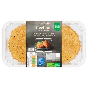 Waitrose freefrom Smoked Haddock & Cod Fishcakes