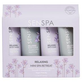Senspa relaxing bath & body travel